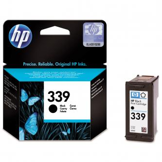 HP originální ink C8767EE, No.339, black, 800str., 21ml, HP Photosmart 8150, 8450, OJ-7410, DeskJet 5740