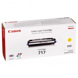 Toner Canon CRG717 (2575B002) originální, žlutý (yellow), pro Canon MF-8450, 4000str.