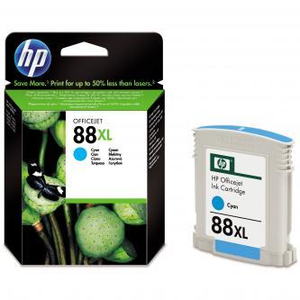 HP C9391AE, No.88XL, cyan, 1200str., 17,1ml, HP OfficeJet Pro K5400, L7580, L7680, L7780