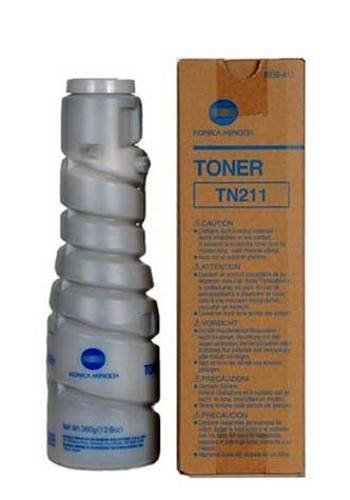 Konica Minolta 8938-415 - originální toner TN211, black, 17000str., Bizhub 250