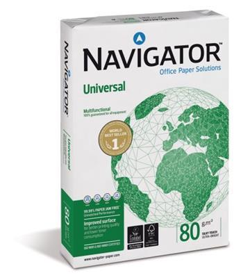 NAVIGATOR NAUNA480 - A4, 80 g, 500 listů v balíčku, kvalita A