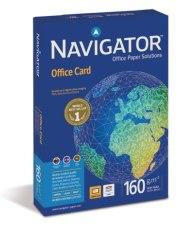 Navigator NAOA480 - Papír NAVIGATOR Office Card A4/160g, 250 listů v balíčku, kvalita A, hlazený