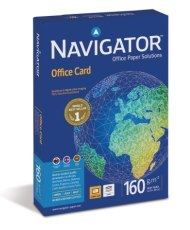 Navigator NAOA380 - Papír NAVIGATOR Office Card A3/160 g, 250 listů v balíčku, kvalita A, hlazený