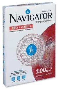 Navigator NAPRA300 - Presentation A3/100, 500 listů v balíčku, kvalita A