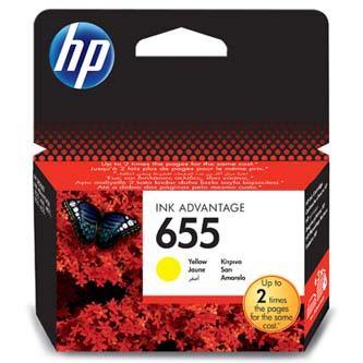 HP Ink Cart Yellow No. 655, CZ112AE