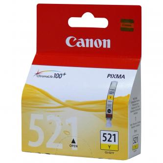 Canon CLI-521Y (CLI521Y), yellow, 505str., 9ml, 2936B001