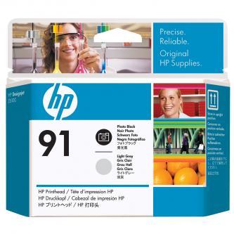 HP No. 91 Photo Black and Light Grey Printhead pro DJ Z6100, C9463A