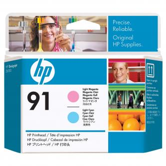 HP No. 91 Light Magenta and Light Cyan Printhead pro DJ Z6100, C9462A