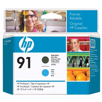 HP No. 91 Matte Black and Cyan Printhead pro DJ Z6100, C9460A