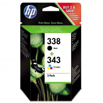 HP Ink Cart C8765EE + C8766EE, 11 ml + 7 ml, SD449EE