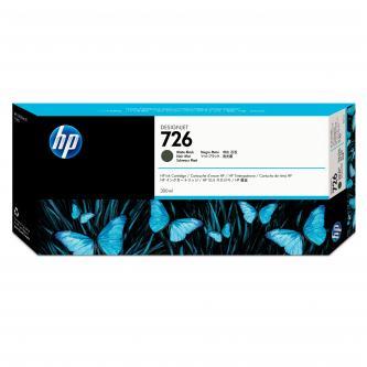 HP No. 726 Matte Black Ink Cartridge pro DJ T1200, 300 ml, CH575A