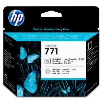 HP No. 771 Photo Black/Light Grey Designjet Printhead, CE020A