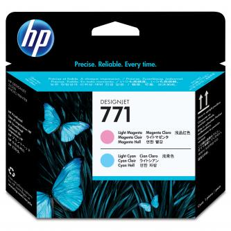 HP No. 771 Light Magenta/Light Cyan Designjet Printhead, CE019A