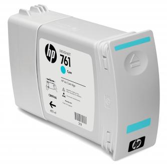 HP 761 Cyan Ink Cartridge, 400 ml, CM994A