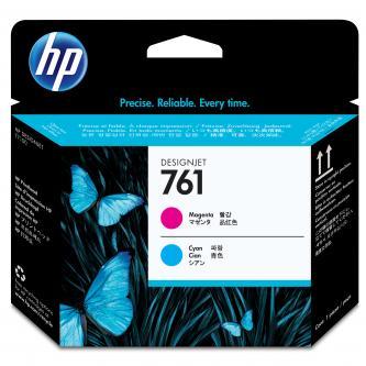 HP 761 Magenta and Cyan Printhead, CH646A
