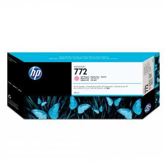 Inkoustová náplň HP CN631A, originální, světle purpurová (light magenta), 300ml