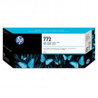 Inkoustová náplň HP CN632A, originální, světle azurová (light cyan), 300ml