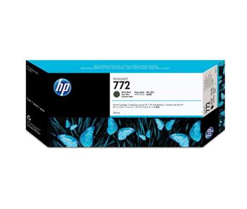 HP originální ink CN635A, matte black, 300ml, HP