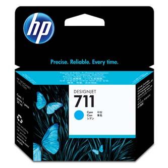 HP 711 29-ml Cyan Ink Cartridge, CZ130A