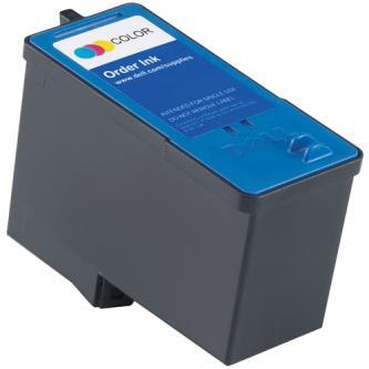 Dell CH884, GR277 (592-10227, 592-10292), originální ink barevný (color), high capacity, Dell 966, 968