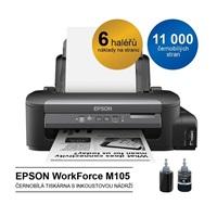Epson M105 - černobílá inkoustová tiskárna, A4, 34 ppm, ITS