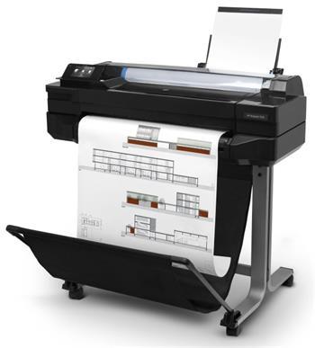 """HP Designjet T520 - 24"""" velkoformátová barevná inkoustová tiskárna formátu A1 (USB 2.0, Ethernet, Wi-Fi)"""