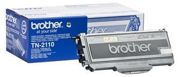 Toner Brother TN-2110 originální, černý (black), pro HL-2140, 2150N, 2170W, DCP-7030, 7045N, 150