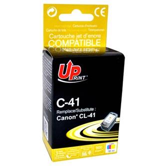 Canon CL-41 - kompatibilní barevný inkoust (UPrint), 18ml, pro Canon iP1600, iP2200, iP6210D, MP150, MP170, MP450
