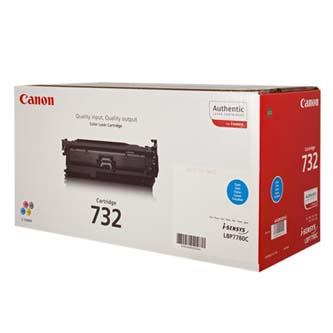 Toner Canon CRG732 (6262B002) originální, azurový (cyan), pro Canon i-SENSYS LBP7780Cx, 6400str.