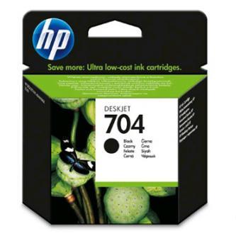 HP CN692AE - originální černá inkoustová náplň No.704, 480 str. pro HP Deskjet 2060