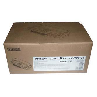Develop originální toner 4827000037, black, 4000str., TC-16, Develop D162F