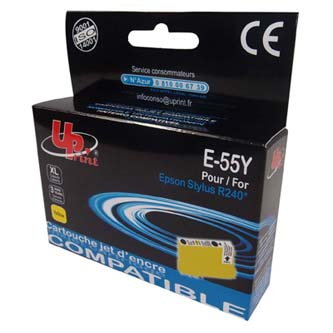 UPrint kompatibilní ink s C13T055440, yellow, 13ml, E-55Y, pro Epson Stylus Photo RX425,420