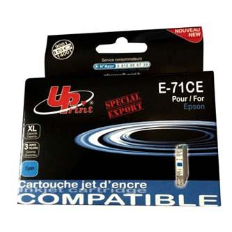 Epson T0712 - kompatibilní azurový inkoust (UPrint), 11 ml