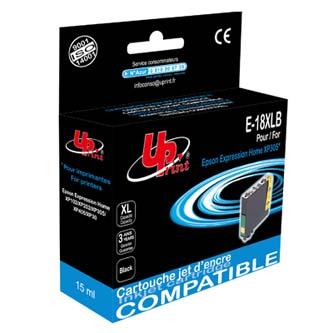 UPrint kompatibilní ink s C13T18114010, 18XL, black, 470str., 15ml, E-18XLB, pro Epson Expression Home XP-102, XP-402, X