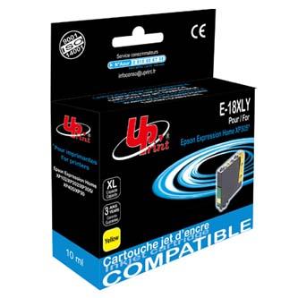 UPrint kompatibilní ink s C13T18144010, 18XL, yellow, 450str., 10ml, E-18XLY, pro Epson Expression Home XP-102, XP-402,