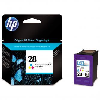 HP originální ink C8728AE, No.28, color, 8ml - expirovaný