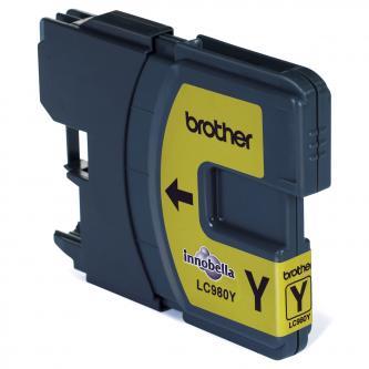 Brother LC-980Y, ink. cartridge žlutá (yellow)