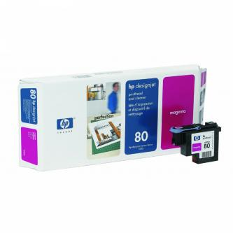 HP No. 80 Cyan Printhead and Cleaner pro DSJ 105x, C4821A