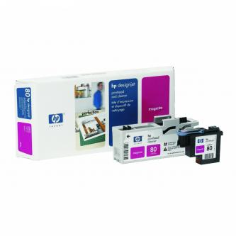 HP No. 80 Magenta Printhead and Cleaner pro DSJ 105x, C4822A