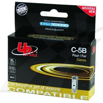 UPrint kompatibilní ink s PGI5BK, black, 28ml, C-5B, pro Canon iP4200, 5200, 5200R, MP500, 800