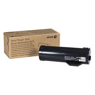 Xerox originální toner 106R02732, black, 25300str., Xerox Workcentre 3615, Phaser 3610