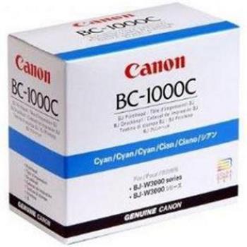 Canon originální tisková hlava BC1000C, cyan, 0931A001, Canon BJ-W3000