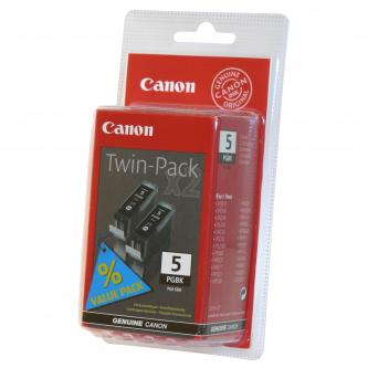 Canon PGI-5Bk Twin Pack - originální sada černých inkoustů PGI-5BK - 2 ks