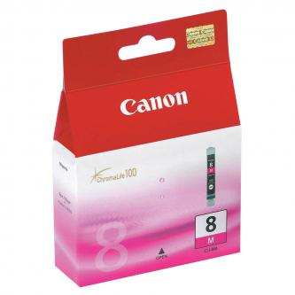Canon CLI-8M (CLI8M), magenta, 420str., 13ml, 0622B026, 0622B006, blistr s ochranou, Canon iP4200, iP5200, iP5200R