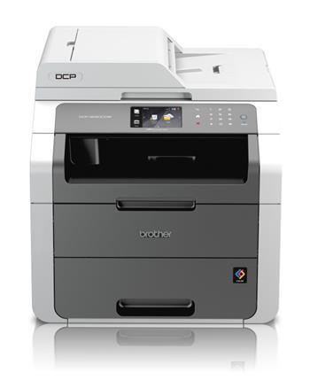 BROTHER tiskárna laser. DCP-9020CDW (A4, 18/18 str.,PCL6, ADF, skener, duplexní tisk ) Eth + Wifi