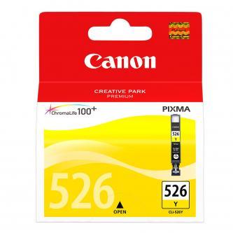Canon CLI-526Y (CLI526Y), yellow, 9ml, 4543B006, blistr s ochranou, Canon Pixma MG5150, MG5250, MG6150, MG8150