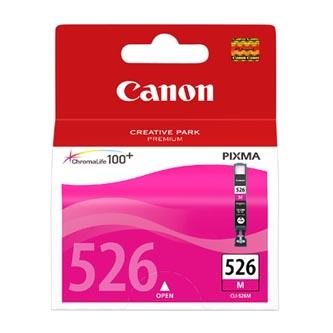 Canon CLI-526M (CLI526M), magenta, 9ml, 4542B004, 4542B006, blistr s ochranou, Canon Pixma MG5150, MG5250, MG6150,