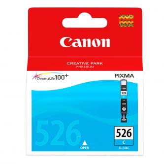 Canon CLI-526C (CLI526C), cyan, 9ml, 4541B010, 4541B004, blistr s ochranou, Canon Pixma MG5150, MG5250, MG6150, MG8