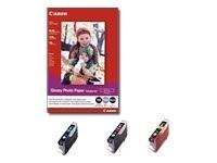 Canon BCI-6BK (BCI6BK), black, 4705A046, 2ks v balení