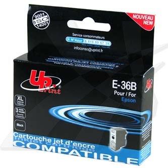 UPrint kompatibilní ink s C13T036140, black, 10ml, E-36B, pro Epson Stylus C42 UX, SX, C44 Plus, C46
